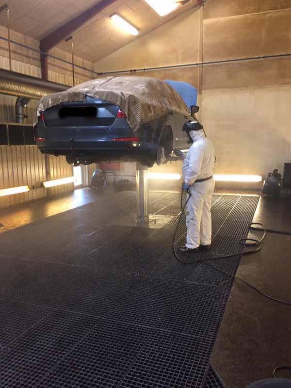 Beskyt karrosseri og undervogn mod rust med TekTrol